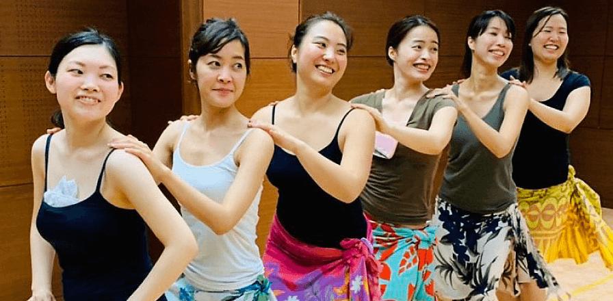 飯田橋本校クラス|東京・茨城のフラダンス・タヒチアンダンス教室|ヘレヒアポリネシアンダンススタジオ|